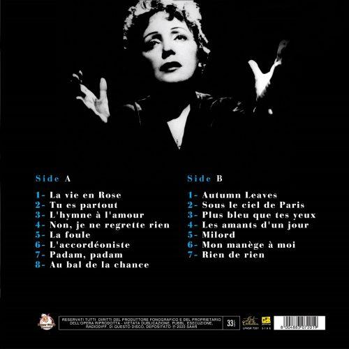 Satilik-Plak-Edith-Piaf-La-Vie-En-Rose-Plak-Arka